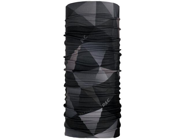 P.A.C. Ocean Upcycling Loop Sjaal, zwart/grijs